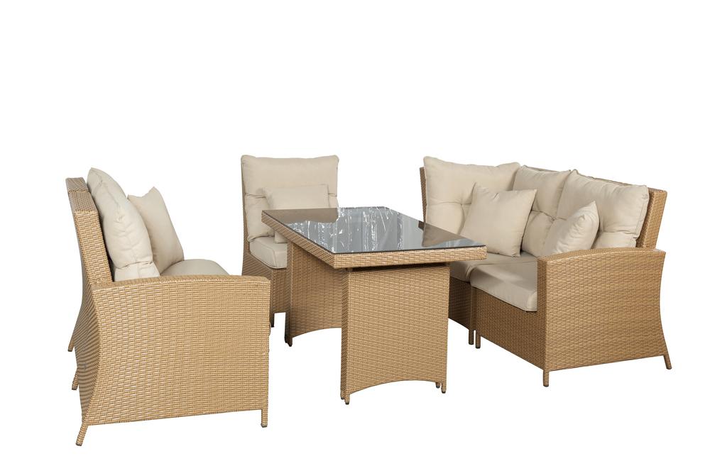 loungeset met hoge tafel