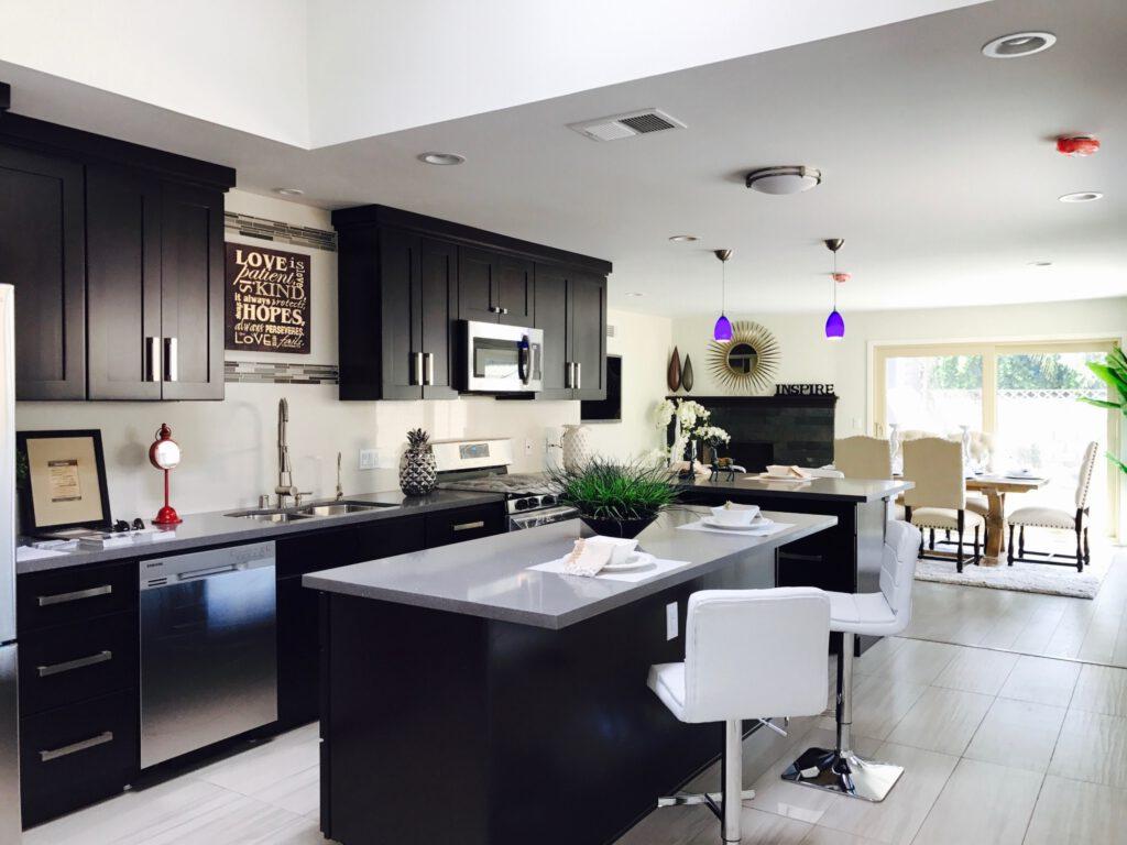 zwarte keukens